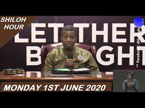 PASTOR E.A ADEBOYE SERMON - RCCG 01/06/2020 SHILOH HOUR