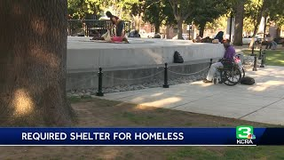 'Right to shelter' plan for California's homeless leads to concerns