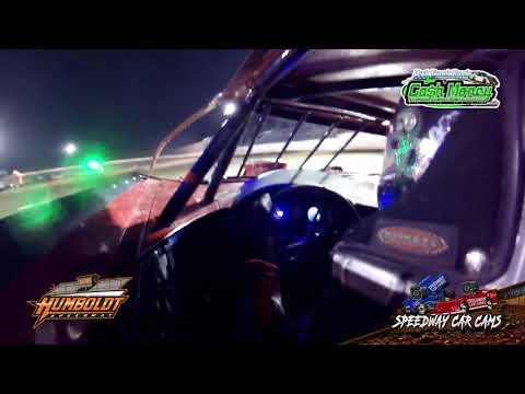 #28 Kylan Garner - Cash Money Late Model - 10-2-2020 Humboldt Speedway - In Car Camera - dirt track racing video image