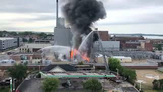 Video shows explosion, fire at MG&E substation