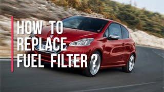 Sostituire filtro carburante Peugeot 208