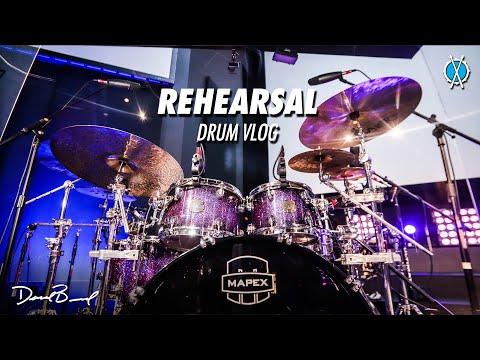 Our Midweek Rehearsal Process // Drum Vlog