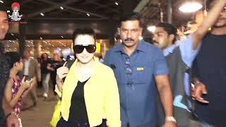 Hot Bollywood Actress Ameesha Patel Spotted At Airport