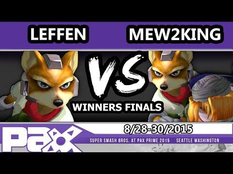 PAX Prime 2015 - Mew2King (Fox, Sheik) Vs. Leffen (Fox) - Winners Finals - UCj1J3QuIftjOq9iv_rr7Egw