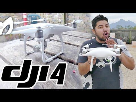 NUEVO Drone DJI Phantom 4 PRIMERAS IMPRESIONES