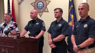 Hamilton County Sheriff's Office describes capture of jail escapee
