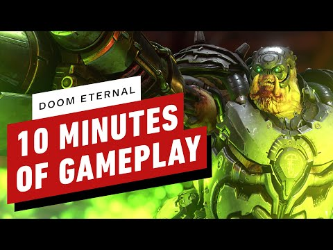 Doom Eternal - 10 Minutes of Intense Gameplay - UCKy1dAqELo0zrOtPkf0eTMw