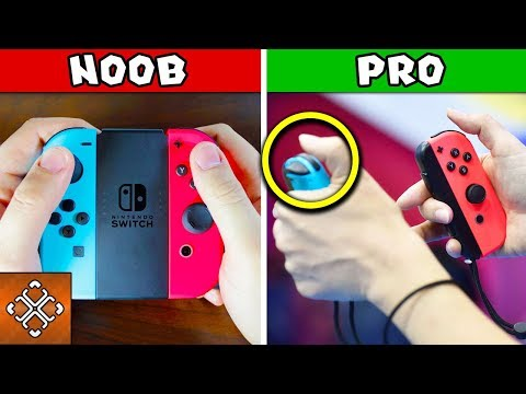 10 Things Only Pro Gamers Know About The NINTENDO SWITCH - UCX77Km4pLRsU9OFYEMdIvew