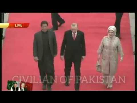Turkish President Tayyip Erdogan Arrives In Pakistan
