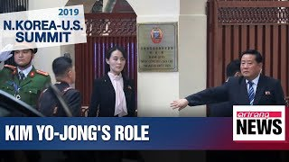 Kim Yo-jong's role more noticeable in lead up to Hanoi summit