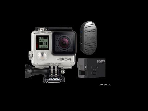 El mejor microfono para GoPro Hero4 (The best microphone for GoPro Hero4)REMOVU M1+A1