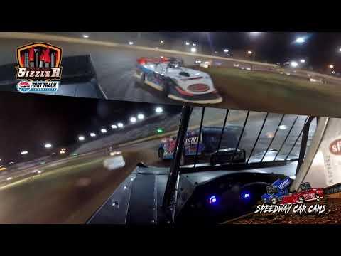 #32 Jason Manley - Topless Late Model - Carolina Sizzler 7-18-21 - In-Car Camera - dirt track racing video image
