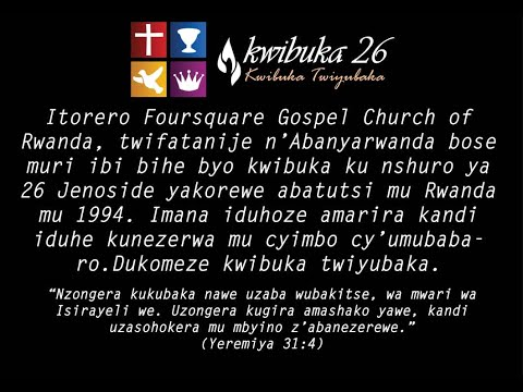 LIVE // FOURSQUARE TV '' MUMABOKO YAWE NIHO NSHYIZE UBUGINGO ''HAMWE NA BISHOP Dr.Fidele MASENGO