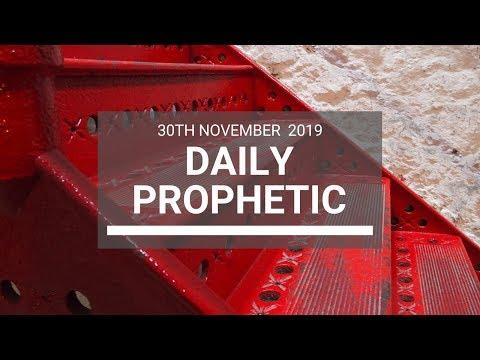 Daily Prophetic 30 November Word 2