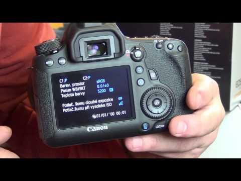 Videorecenze Canon EOS 6D tělo