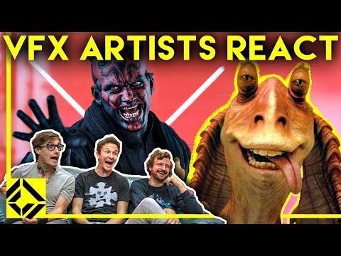 VFX Artists React to THE PREQUELS Bad & Great CGi - UCSpFnDQr88xCZ80N-X7t0nQ