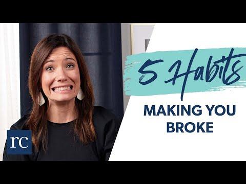 5 Spending Habits You Need to Break TODAY