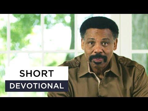 How God Changes His Mind - Tony Evans Devotional