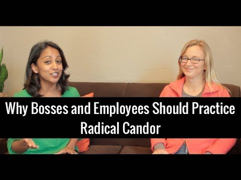 Why Bosses & Employees Should Practice Radical Candor | Kim Scott and Poornima Vijayashanker - UCr3v8cEC5IGfWBS03PpsfKw