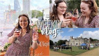 Weekly Vlog #194   Rosé Fountain & Local Summer Fair