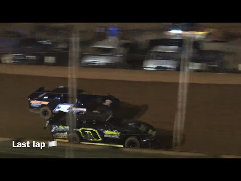 Good race in modified street at Winder Barrow Speedway September 4th 2021 - dirt track racing video image