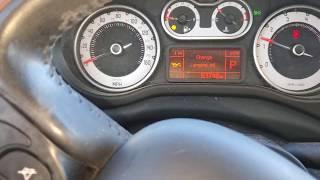Reset service Fiat 500L