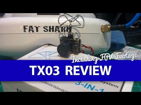 FULL REVIEW: Eachine TX03 AIO FPV Camera WITH DVR Footage! - Micro FPV System - UCWP6vjgBw1y15xHAyTDyUTw