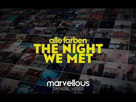 Alle Farben - The Night We Met (Official Lyric Video) - UCJ2cGU-CskWXRmzql5RgjKg