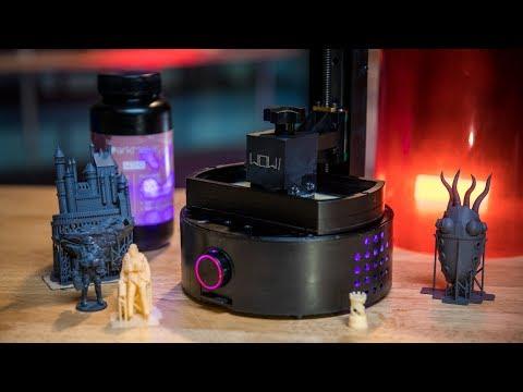 SparkMaker FHD $250 3D Printer Review! - UCiDJtJKMICpb9B1qf7qjEOA