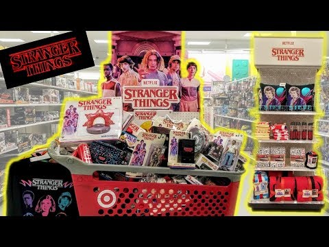 Buying All Stranger Things 3 Toys & Merch at Target! Close Up of each! Stranger Things Toy Hunt! - UCCjuaC_180wxIzcUrJK9vMg