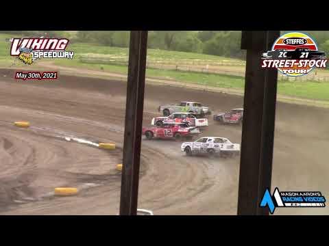 Viking Speedway Steffes WISSOTA Street Stock Tour A-Main (5/29/21)* - dirt track racing video image