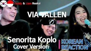 Orang Korea Reaksi, Via Vallen - Senorita Koplo Cover Version( Shawn Mendes feat Camila Cabello )