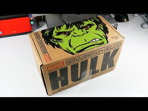 Unboxing Marvel HULK Subscription Box - UCRg2tBkpKYDxOKtX3GvLZcQ