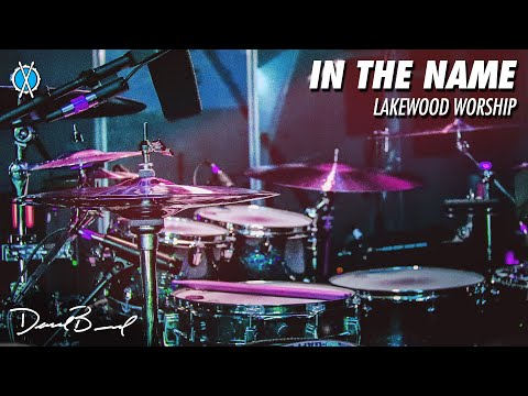 In the Name Drum Cover // Lakewood Worship // Daniel Bernard