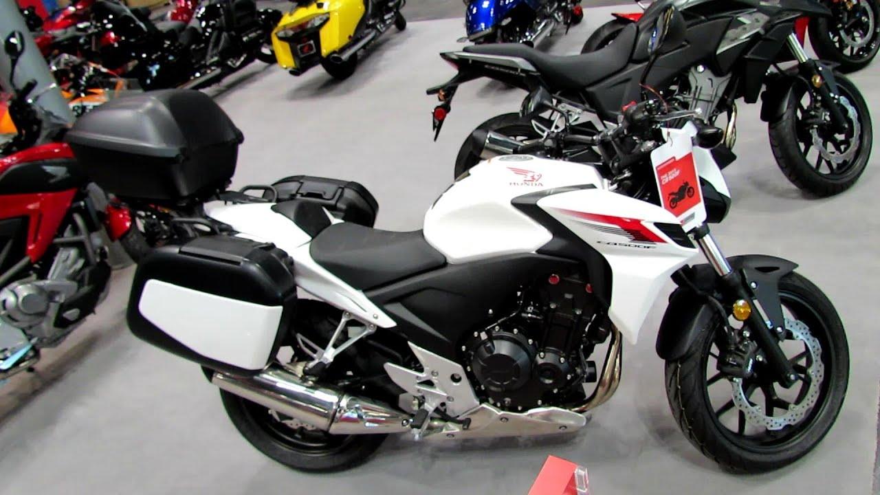 2013 Honda CB500F Accessorized Walkaround