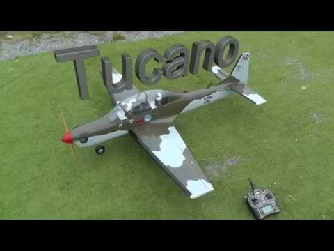 Seagull Super Tucano With DLE 20cc - Maiden flight - UCz3LjbB8ECrHr5_gy3MHnFw