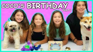 OUR DOG BIRTHDAY PARTY | SISTER FOREVER