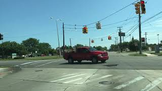 Driving to Saint Clair Shores, Michigan from Roseville, Michigan