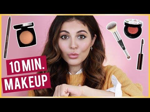 10min Low Maintenance Makeup Routine. - UCp1XyVkqPgcRvso3AY_e8iQ