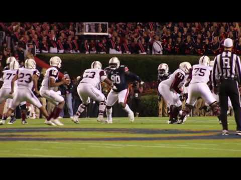 A highlight reel of Auburn's 55-0 victory over the Alabama A&M Bulldogs.