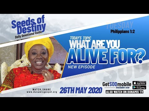 Dr Becky Paul-Enenche - SEEDS OF DESTINY  TUESDAY, 26 MAY, 2020