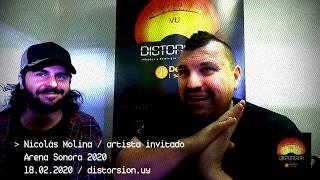 Conversamos con Nicolás Molina artista invitado en la final de Arena Sonora 2020 (13.02.2020)