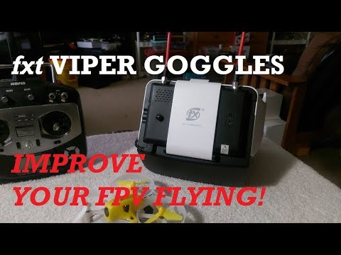 THESE GOGGLES CAN IMPROVE YOUR FPV SKILLS!!!😮 FXT VIPER 5.8ghz DIVERSITY GOGGLES - UCTyUlPiyU9TyfHMH8L7fjzQ