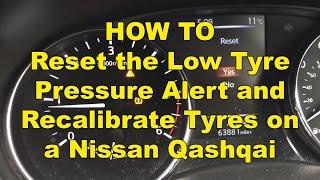 Reset spia pressione pneumatici Qashqai J11