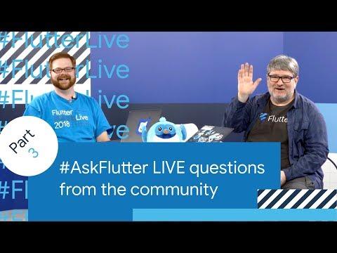 Flutter Performance, Flutter Games, Flutter Tooling, & More (#AskFlutter at Flutter Live) - UC_x5XG1OV2P6uZZ5FSM9Ttw