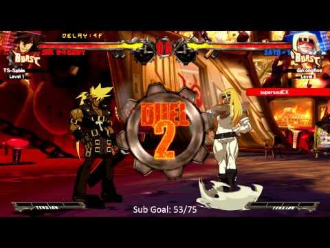 Guilty Gear Xrd Day 1 Netplay - Floe (Eddie) vs DragonGod (Sol) [720p/60fps] - UCKy1dAqELo0zrOtPkf0eTMw
