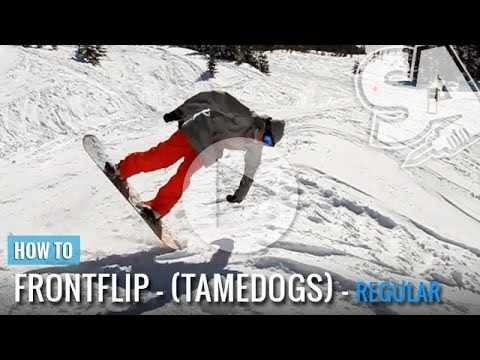 How To Tame Dog (Front Flip) On A Snowboard (Regular) - UCX9chJwW7gL93LIcC3xP2uQ