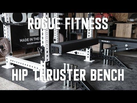 Rogue Fitness Monster Hip Thruster Bench - UCNfwT9xv00lNZ7P6J6YhjrQ