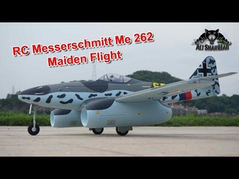 RC Messerschmitt Me 262 Schwalbe Jet Maiden Flight - UCsFctXdFnbeoKpLefdEloEQ
