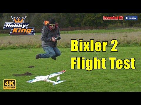 HobbyKing Bixler 2 Powered Glider / Trainer / FPV Plane: ESSENTIAL RC FLIGHT TEST [*UltraHD / 4K*] - UChL7uuTTz_qcgDmeVg-dxiQ